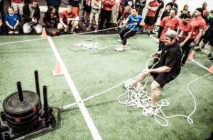 sled drags for pullups